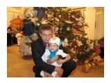 На новогоднем утреннике с сынишкой