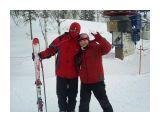 Я и Евгения на верху горы.  Просмотров: 1176 Комментариев: