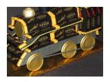 поезд 48 порционных шоколадок Roshen 1 конфета Roshen c цельным орехом 1 шоколадная монета  возможно изготовление на заказ. Фантазия и возможности альбомом не ограничены :))  Просмотров: 1596 Комментариев: 0