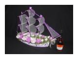 корабль со спиртным 29 конфет феррейро длина 77см высота 57см  Просмотров: 1185 Комментариев: 2