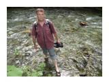 Реки, можно переходить и так! Река Излучная! Фотограф: viktorb  Просмотров: 652 Комментариев: 0