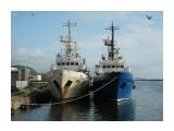 ДОЗОРНЫЙ  и ЛАЗЕР.  (порт Невельск, 2012г). Фотограф: 7388PetVladVik  Просмотров: 3408 Комментариев: 0