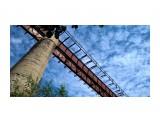 старый мост село Чистоводное, старый жд мост через реку.  Просмотров: 1437 Комментариев: