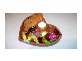 IMG_20210129_182944 Отличный подарок на День Святого Валентина и не только. Менажница со свечой. Бук. Масло.  Просмотров: 365 Комментариев: