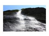 Водопад.. Рассыпанная в воздухе прохлада.. Фотограф: vikirin  Просмотров: 1384 Комментариев: 0
