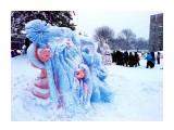 Замерзшие Дед мороз и Снегурка.. Фотограф: vikirin  Просмотров: 2906 Комментариев: 0