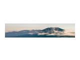 вид с влк Атсонупури на г Стокап /из двух фото / оригинальный размер 120х35см 300dpi Фотограф: ©  marka /печать больших фотографий,создание слайд-шоу на DVD/  Просмотров: 692 Комментариев: 0