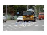 Новая фишка милицейские палочки на дорогах!
