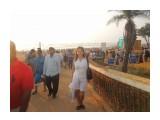 """DSCN0392 Индия, пляж Калангут, За моей спиной """"людское"""" море.  Просмотров: 10 Комментариев:"""