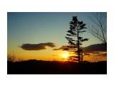 Догорает закат и багровые краски. переходят в ночные тона Фотограф: В.Дейкин  Просмотров: 1311 Комментариев: 0