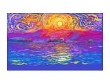 закат морской 20210404