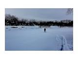 Через замерзшую реку.. Фотограф: vikirin  Просмотров: 792 Комментариев: 1