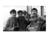 пароход КУЛУ, в пути на о. Кунашир. 1963 год, август. Друзья юности...  Просмотров: 539 Комментариев: 0