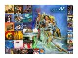 Boney M_1980_2_wl Фотограф: © marka Boney M. плакат с номерными LP дисками и синглами  Просмотров: 190 Комментариев: 0