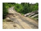 Дорогу разьедает ручьями Фотограф: vikirin  Просмотров: 4053 Комментариев: 0