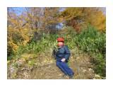 SAM_7700 Я в осеннем лесу...  Просмотров: 9 Комментариев: