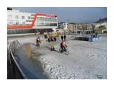 SAM_7788 Молодые Деды морозы на велосипедах.  Просмотров: 315 Комментариев: