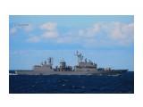 Боевой корабль у берегов Республика Корея.  Просмотров: 60 Комментариев: