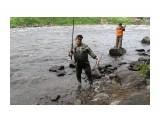 лов рыбв на снасти припая 23 июля 17 года Архангелск рыбаки из брянска никогда раньше лосось не ловил  Просмотров: 32 Комментариев: