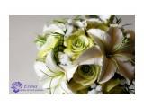 """Свадебный букет """"Лилия и роза""""  Просмотров: 585 Комментариев: 0"""
