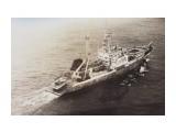 ЗЕМЛЯНСК.   Фотограф: Из фотоархива Замятина В.Е.) (Тунцелов на промысле тунца, НБТФ, 1980 год)  Просмотров: 3269 Комментариев: 0