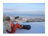 Байкал....вон он там внизу Г\\Л курорт в городе Байкальск  Просмотров: 2563 Комментариев: