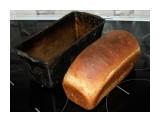 Хлеб домашний Соскучилась по нормальному хлебу. Испекла сама. Обычный бутерброд: домашний хлеб, с хрустящей корочкой и настоящее сливочное масло - сказка!  Просмотров: 209 Комментариев: