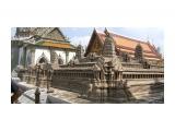 Китай в Тайланде Миниатюра китайского храма в Старом Королевском Дворце в Банкоке  Просмотров: 3325 Комментариев: