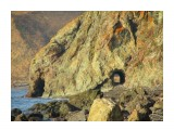 Тунель в скале - с другой стороны  Тунель невдалеке от устья Островки  Просмотров: 1567 Комментариев: