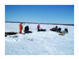 Зимняя рыбалка на Лунском.. Фотограф: vikirin  Просмотров: 2054 Комментариев: 0