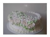 Торт бисквит,крем взбитые сливки,прослоен ананасом.Для домашнего чаепития...  Просмотров: 534 Комментариев:
