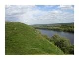 Вот такие крутые склоны к древнерусской крепости! Фотограф: viktorb  Просмотров: 619 Комментариев: 0