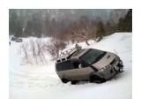 Перевал на Лесное 19 апреля 2010 1,5 - 2 метра снега под машинами....  Просмотров: 2052 Комментариев: