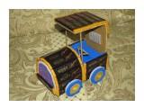 Машинка 28 шоколадок Roshen (горький и с орехами)  возможно изготовление на заказ. Фантазия и возможности альбомом не ограничены :))  Просмотров: 970 Комментариев: 0