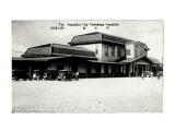 Тоёхара. Конец 20-х - начало 30-х годов. Здание железнодорожного вокзала.  Просмотров: 54 Комментариев: