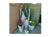 Название: Получаем интересные ёмкости под цветы. Фотоальбом: Идеи Категория: Хобби  Просмотров: 107 Комментариев: 0