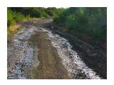 Ручьи разрушают дороги