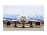 Boeing-777-300. Авиакомпания Россия. Леолёт.  Просмотров: 133 Комментариев: