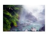 изумрудные реки влк Баранского* Фотограф: ©  marka /печать больших фотографий,создание слайд-шоу на DVD/  Просмотров: 794 Комментариев: 0