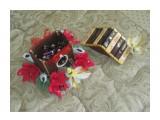 скворечник со сладостями 10 шоколадок Roshen, 11 конфет Марсиянка + сладости внутри скворечника. содержимое можеть быть по вашему желанию.   возможно изготовление на заказ. Фантазия и возможности альбомом не ограничены :))  Просмотров: 1268 Комментариев: 0
