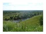 С городища, открывается красивый вид на пойму Десны! Фотограф: viktorb  Просмотров: 641 Комментариев: 0