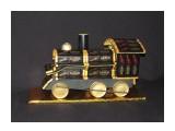 поезд 48 порционных шоколадок Roshen 1 конфета Roshen c цельным орехом 1 шоколадная монета  возможно изготовление на заказ. Фантазия и возможности альбомом не ограничены :))  Просмотров: 2471 Комментариев: 0
