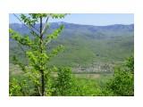 Вид с горы Верблюд (389 м.) Село Михайловка  Просмотров: 452 Комментариев: