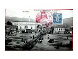 Период Карафуто Привокзальная площадь г. Тоёхара. Июль 1932 года. Из архива А. Дозорного.  Просмотров: 131 Комментариев: