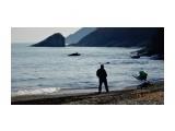 DSC01386 По обе стороны пляжа Стекляшки расположены красивые скалы. Вид справа.  Просмотров: 205 Комментариев: 0