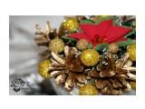 """Новогодняя композиция """"Золото""""  Просмотров: 537 Комментариев: 0"""