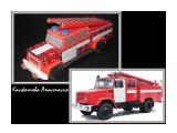 с днем пожарной охраны! настоящая пожарная машина и сладкая пожарная машина в качестве оригинальной подарка.  Просмотров: 2101 Комментариев: 0