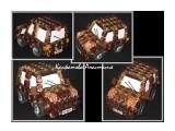 джип из конфет сладкий джип из конфет послужит оригинальным подарком как мужчине, так и ребенку)  Просмотров: 2424 Комментариев: 0