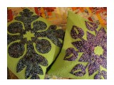 Наволочки ручной работы в гавайском стиле лоскутного шитья. Размер 47*47 см.  Просмотров: 56 Комментариев: