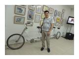 Длинный велосипед Снято в веломузее  Просмотров: 401 Комментариев: